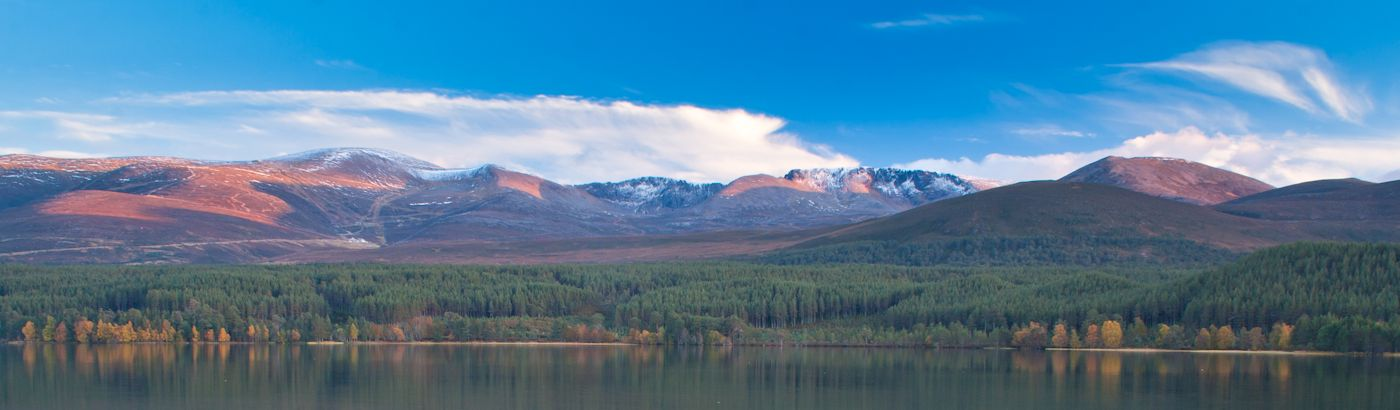 Cairngorm mountains & Loch Morlich
